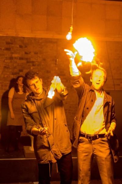Harry as Jim Greenfield (L)