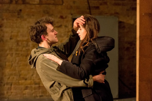 Pearl with Harry Melling in The Angry Brigade
