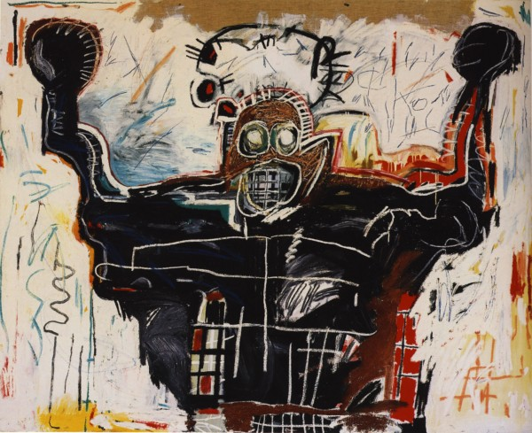 The Boxer by Jean-Michel Basquiat