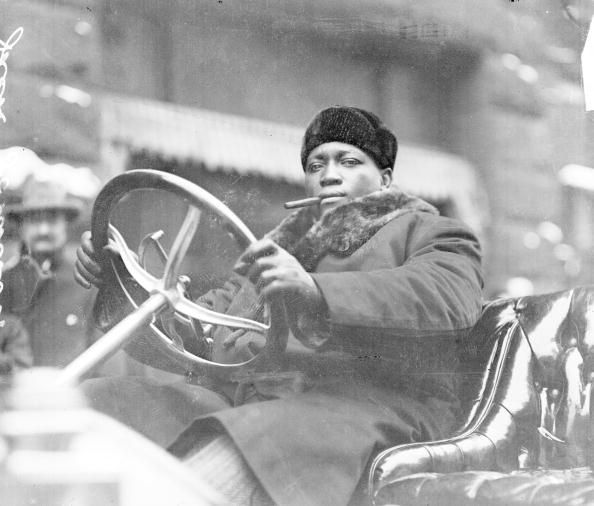 """""""Jack Johnson was the first great showman. He gave them what they wanted. Look at the time he lived. It was remarkable that he was travelling the world, as a black man, getting arrested, leaving America, going to Europe."""" - Lennox Lewis, retired boxer and the most recent undisputed world heavyweight champion."""