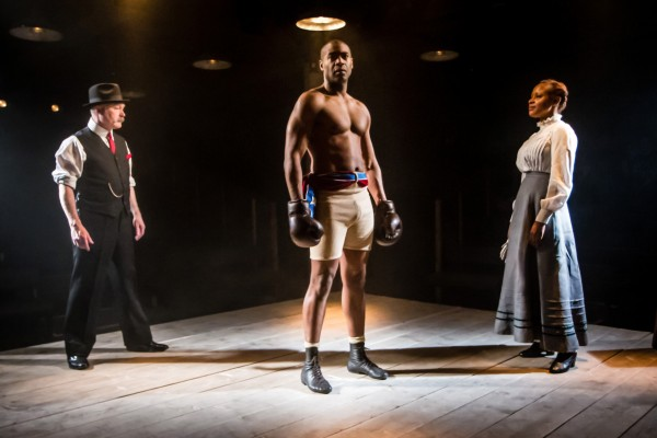 L-R: Ewan Stewart and Nicholas Pinnock star alongside Frances Ashman in The Royale.