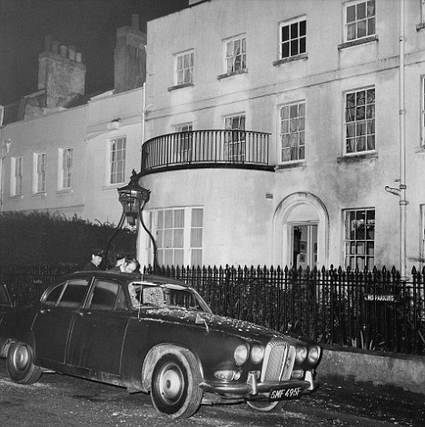 Home Secretary Robert Carr's house was bombed by the Angry Brigade