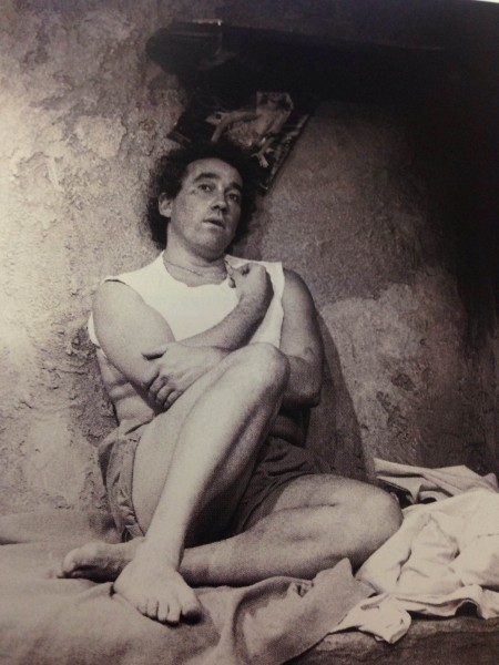Simon Callow in Manuel Puig's Kiss of the Spiderwoman, 1985