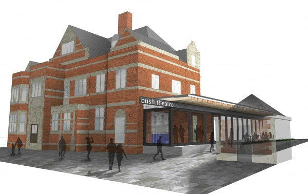 Bush Theatre renovation architect impression