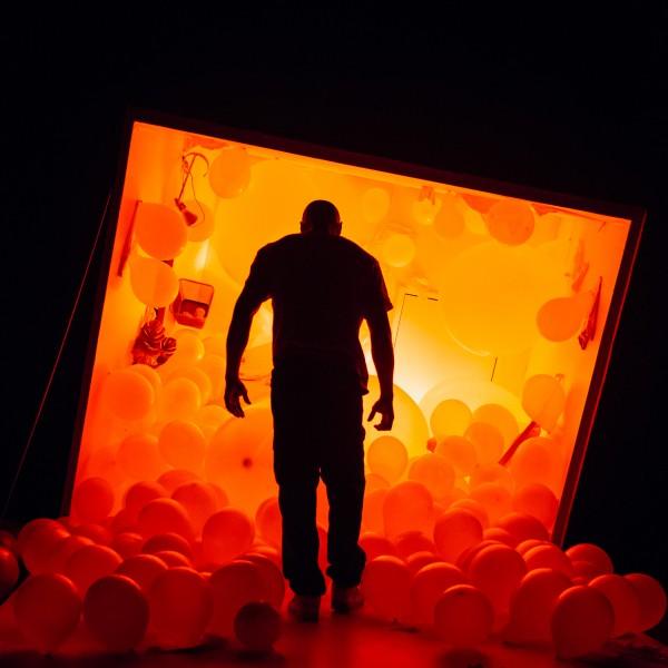 Arinze Kené in Misty by Arinze Kené at the Bush Theatre © Helen Murray