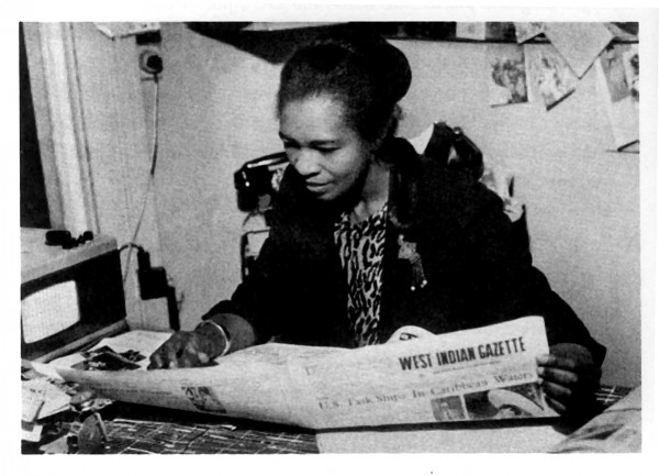 Activist and mother of Notting Hill Carnival Claudia Jones. Photo: The London Worker