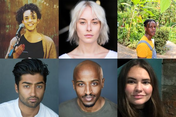 2020 Emerging Writers' Group headshots
